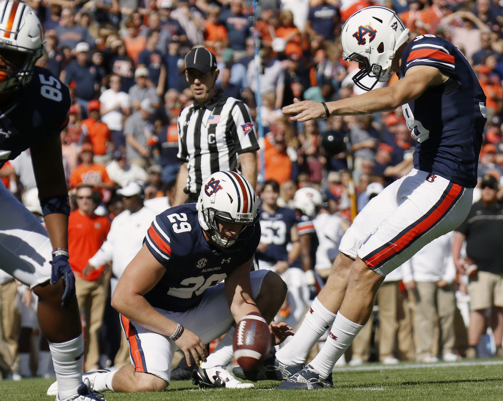 Daniel Carlson named to Walter Camp Award watch list