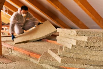 Adding insulation in general can boost household energy efficiency by some 10% on average, according to the federal government' s Energy Star program.