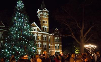 Auburn University Christmas tree lighting 2016