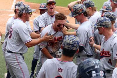 PHOTOS: Auburn vs. North Carolina, Super Regional Game 3