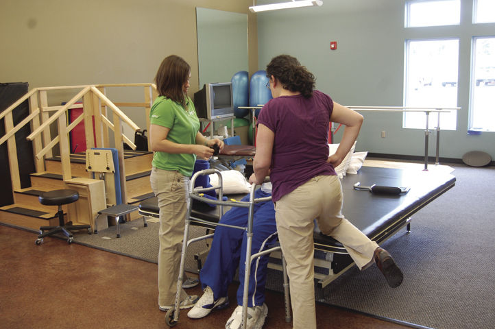 Patient walks again after physical therapy eamc health updates for Professional physical therapy garden city