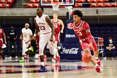 Men's Basketball: Auburn vs Arkansas