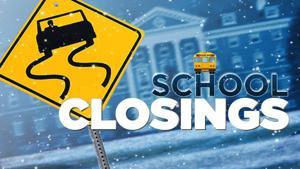 Weather prompts school closings tomorrow