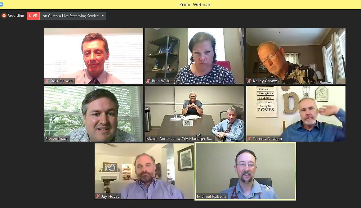 council zoom meeting