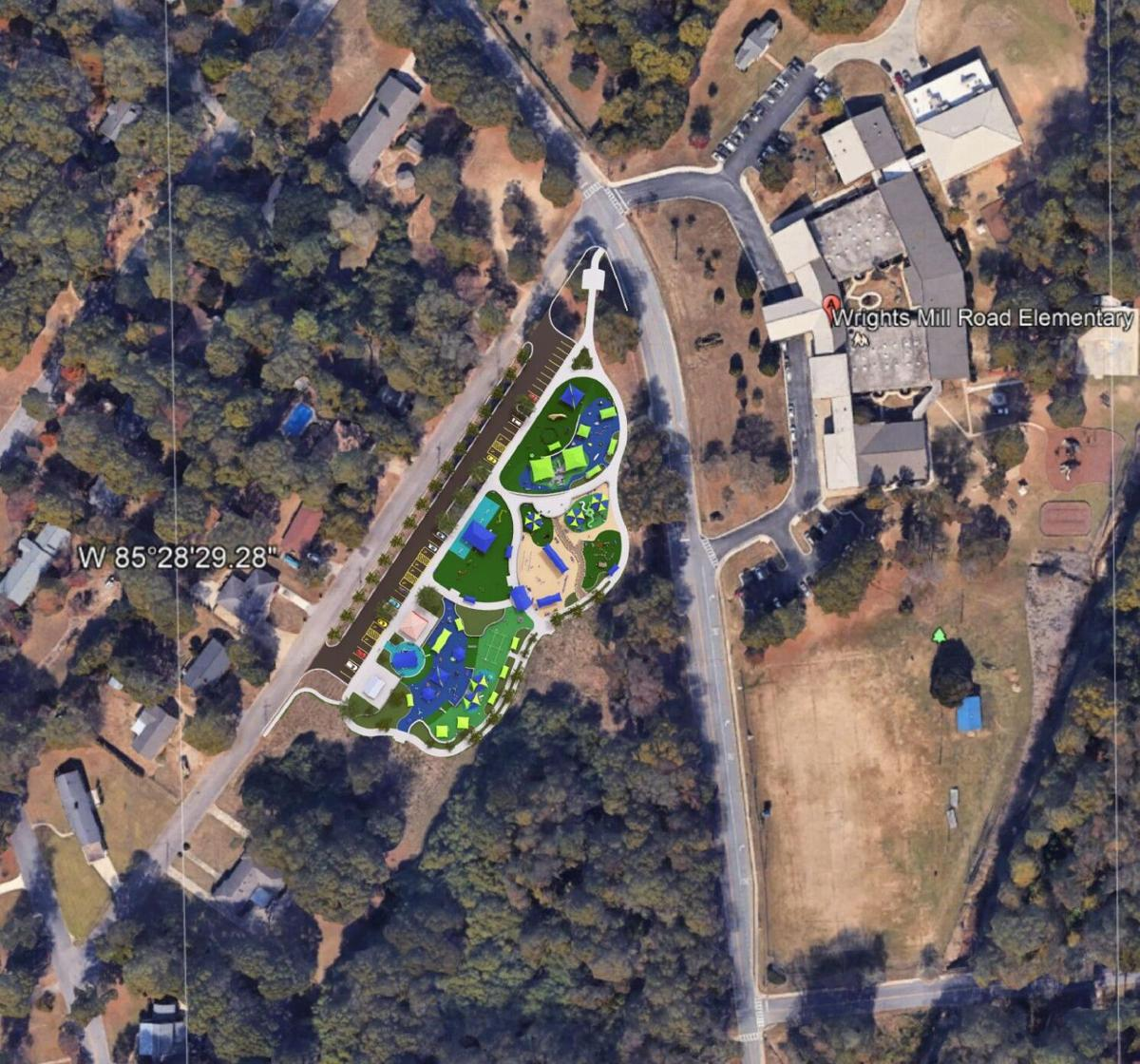 Inclusive playground coming to Town Creek Park
