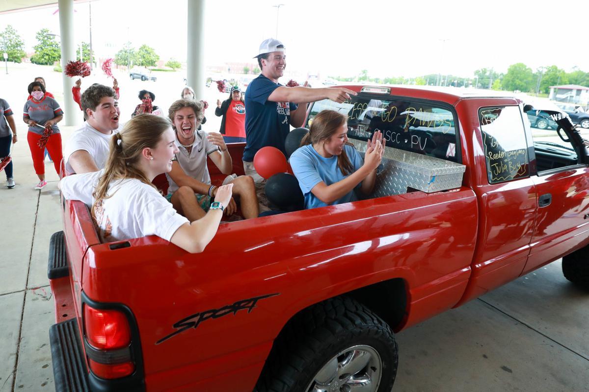MAIN Opelika High School Class of 2020 drive-thru celebration