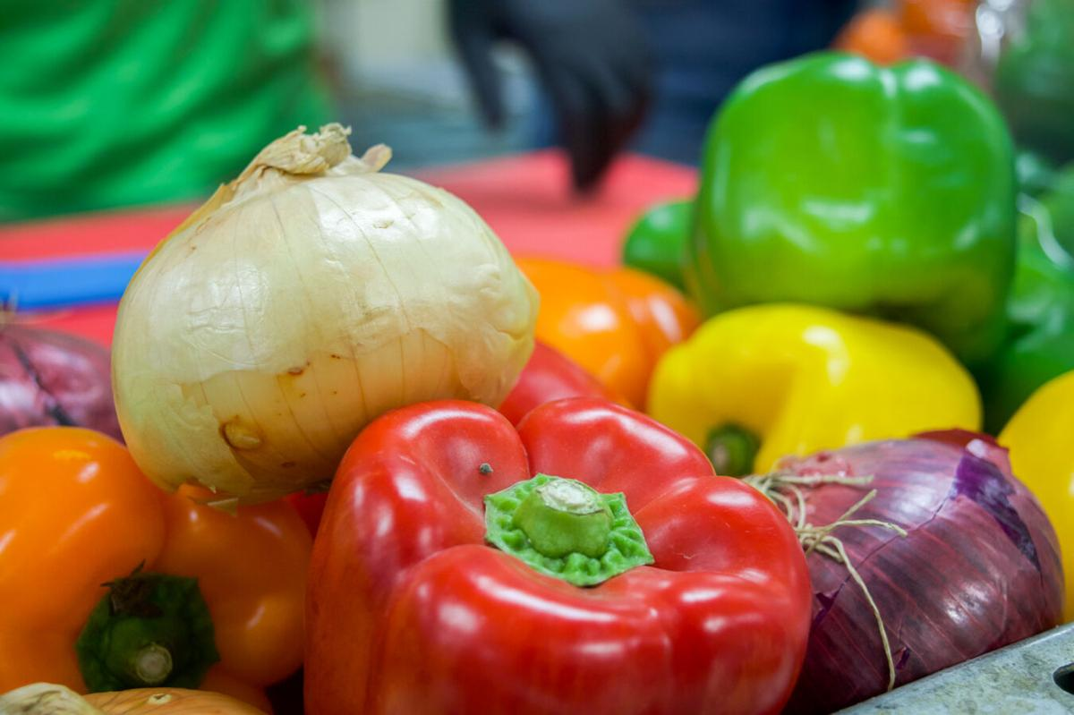 Proper Prep veggies