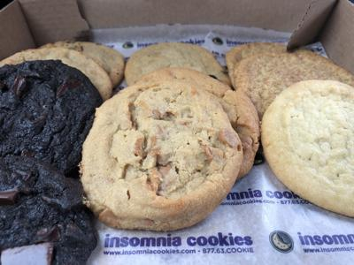 Insomnia Cookies delivers
