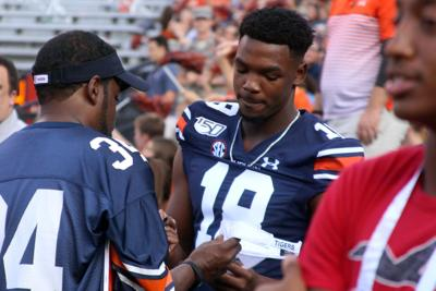 'Impact players' back at practice for Auburn