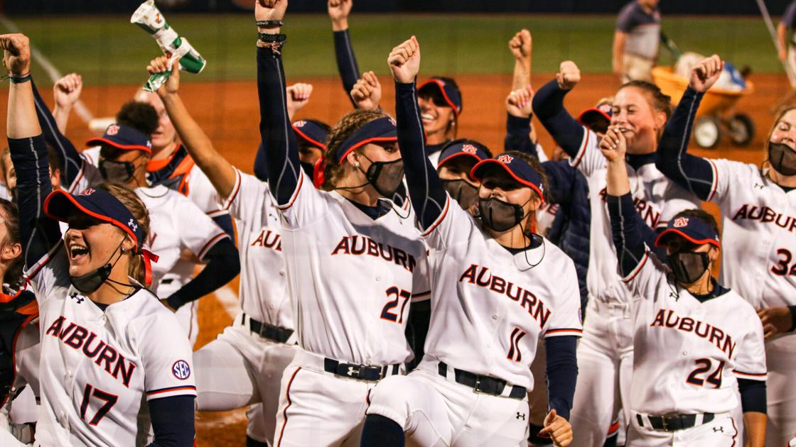 Auburn softball wins again, takes series from No. 12 Kentucky