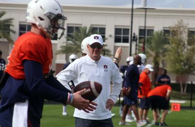 PHOTOS: Auburn football practice in Tampa ahead of the Outback Bowl