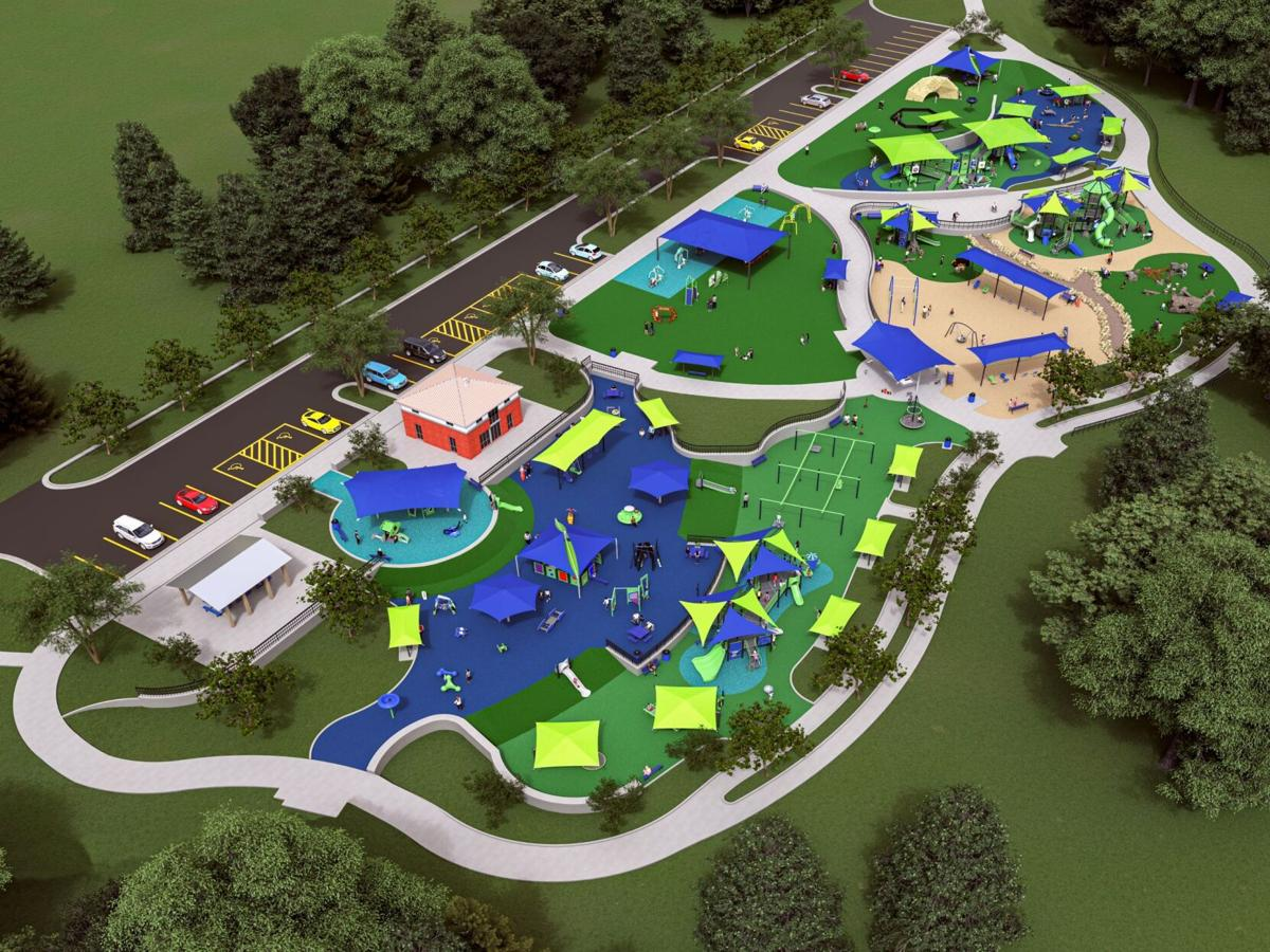 Town Creek Park inclusive playground expected to open later this year