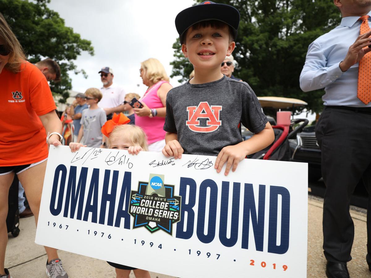 c2b4188e PHOTOS: Auburn baseball departs for College World Series in Omaha | Sports  Photos | oanow.com