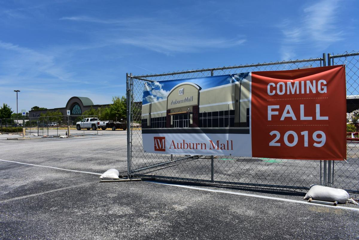 Auburn Mall renovations