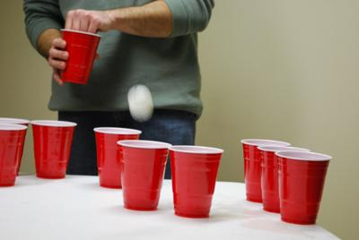 red solo cups in use