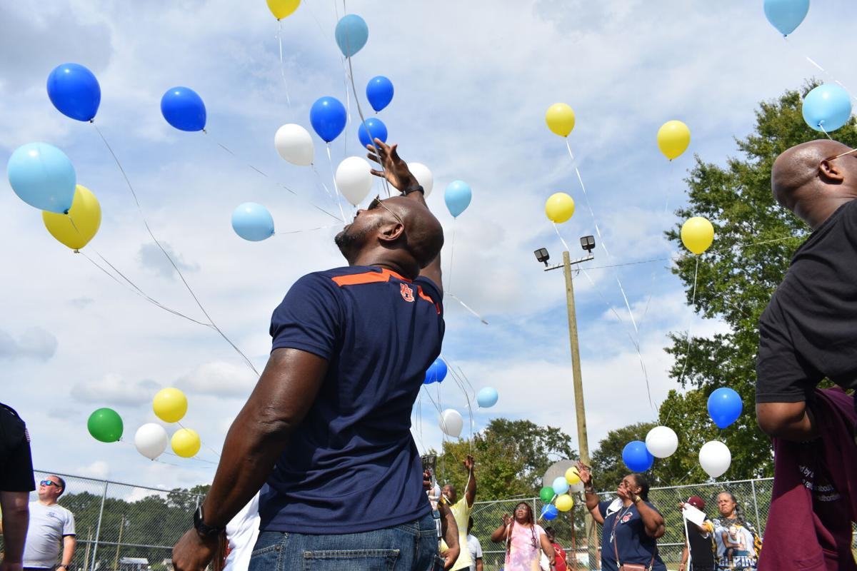 Bryant Balloon Release 1