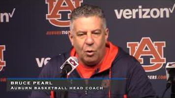 Auburn Basketball Head Coach Bruce Pearl Press Conference