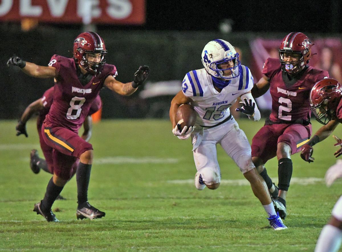 Dothan High vs Auburn football