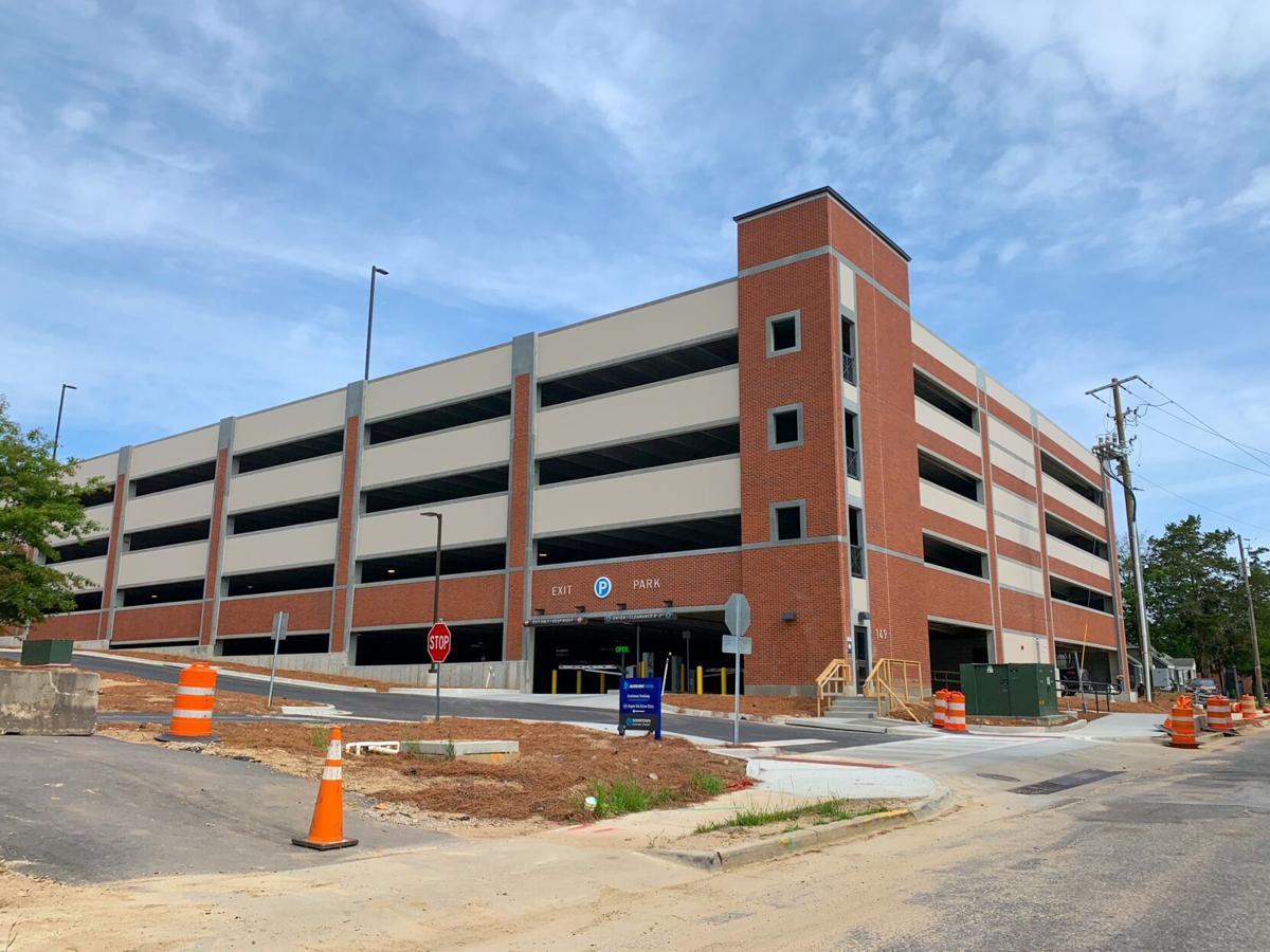 AuburnBank parking deck now open