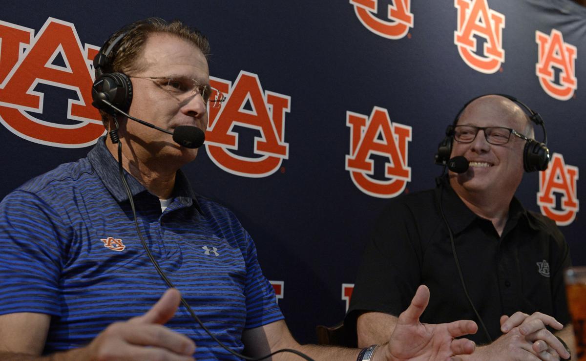Voice of the Auburn Tigers, Rod Bramblett