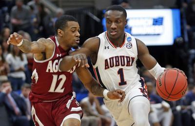 NCAA New Mexico St Auburn Basketball
