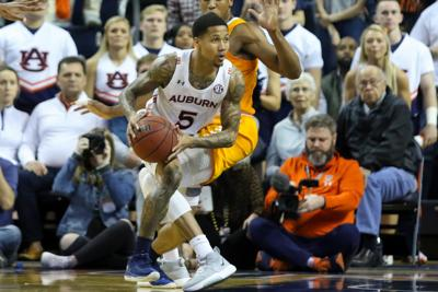 Auburn vs. Tennessee men's basketball