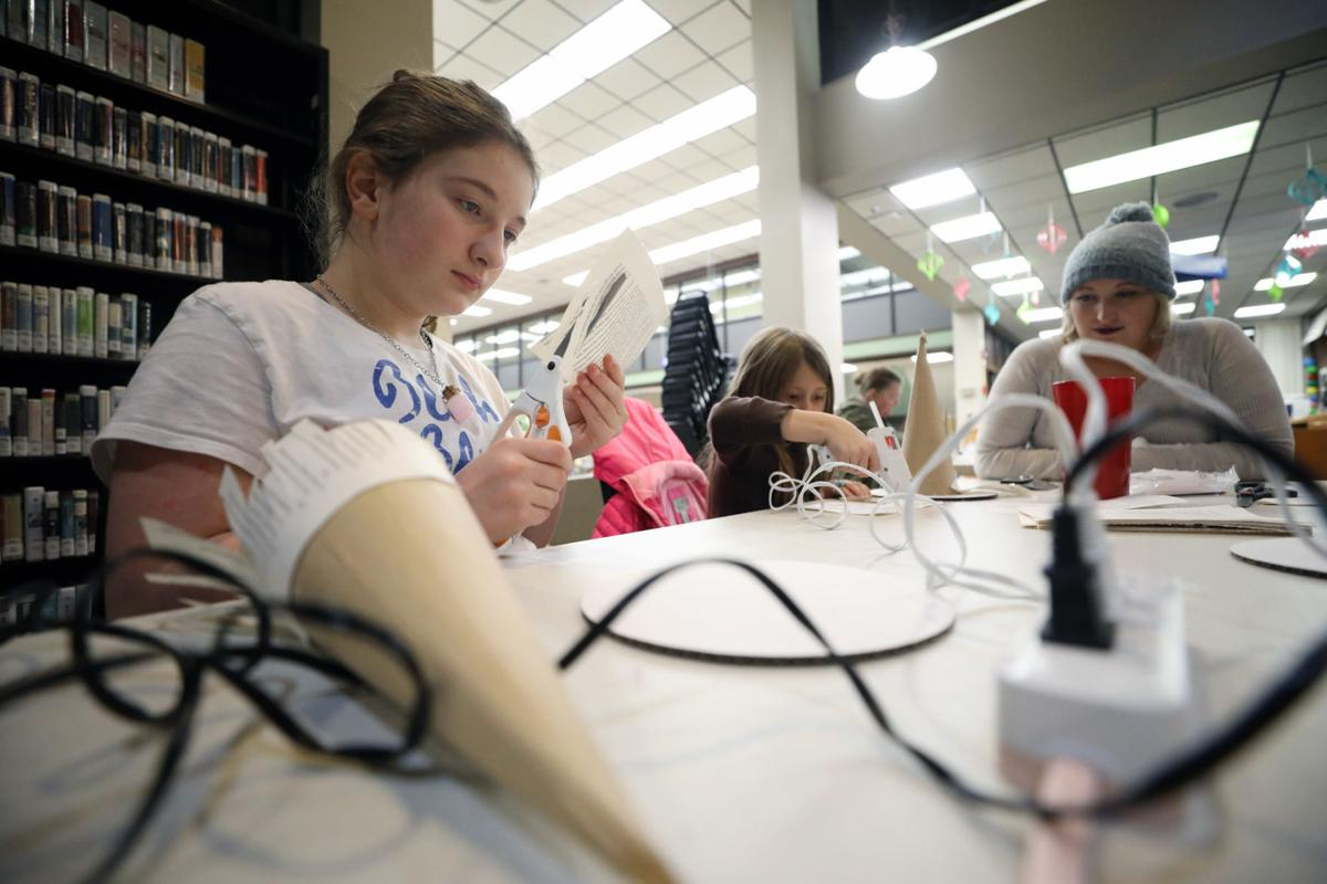 Crafter Hours Gives New Life To Old Books Local News Building Wiring