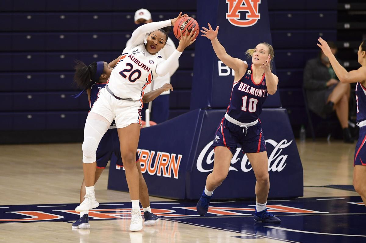 Women's Basketball: Auburn vs  Belmont