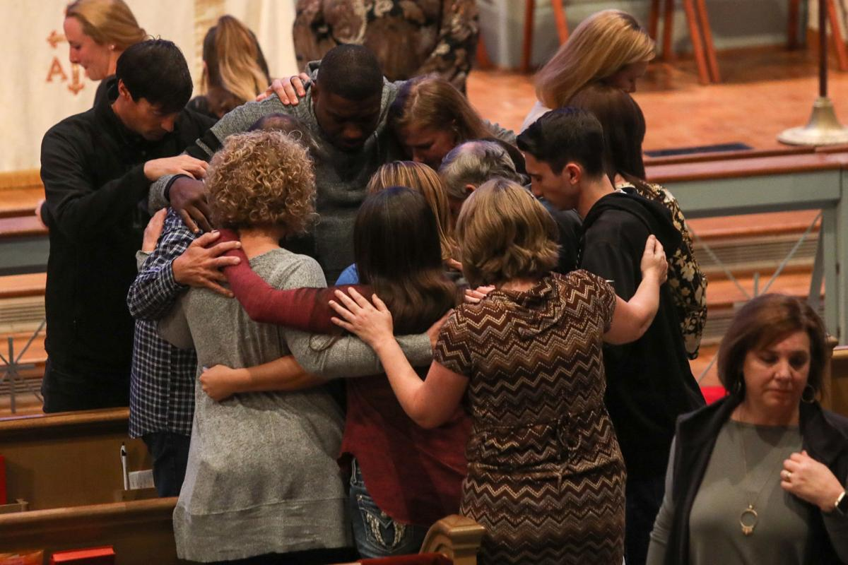 Aniah Blanchard prayer service
