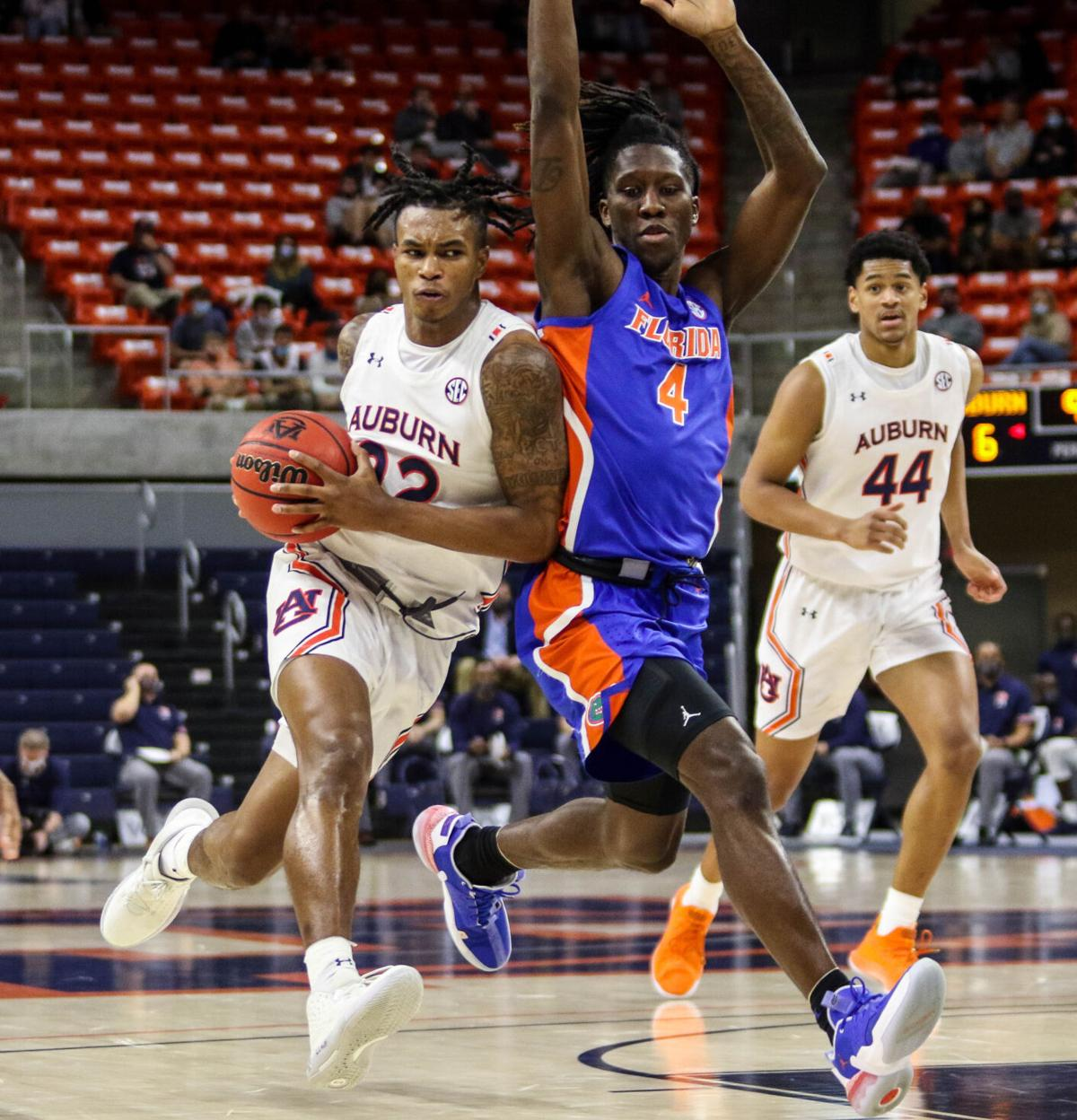 Auburn vs. Florida men's basketball