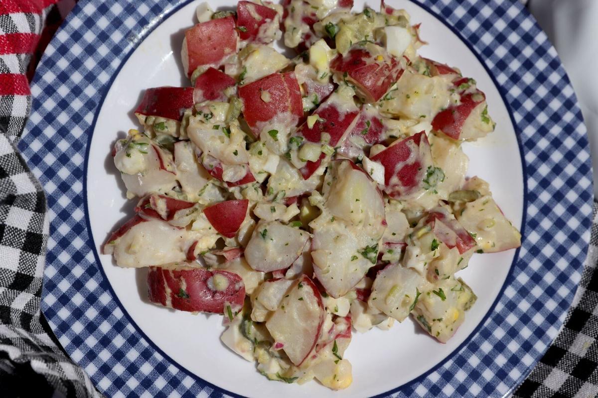 American Potato Salad, Wednesday, May 12, 2021.