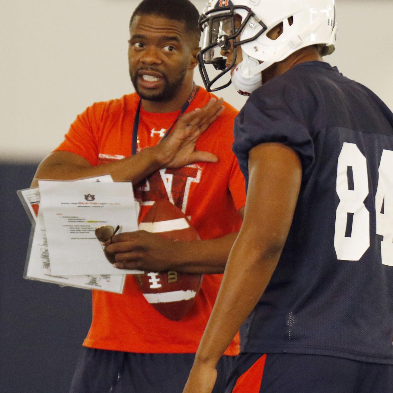 meet 93f8b 7c8e4 BLOG: Auburn WR coach Dameyune Craig addresses Duke Williams ...