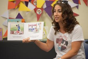 'Let kids be kids': Local author celebrates childhood, ethnicity in her work