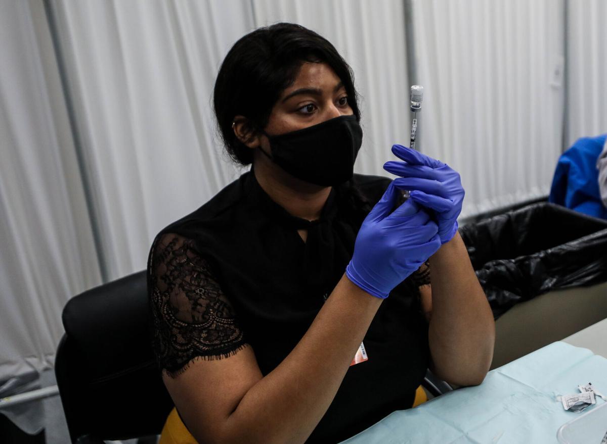 EAMC Vaccine clinic