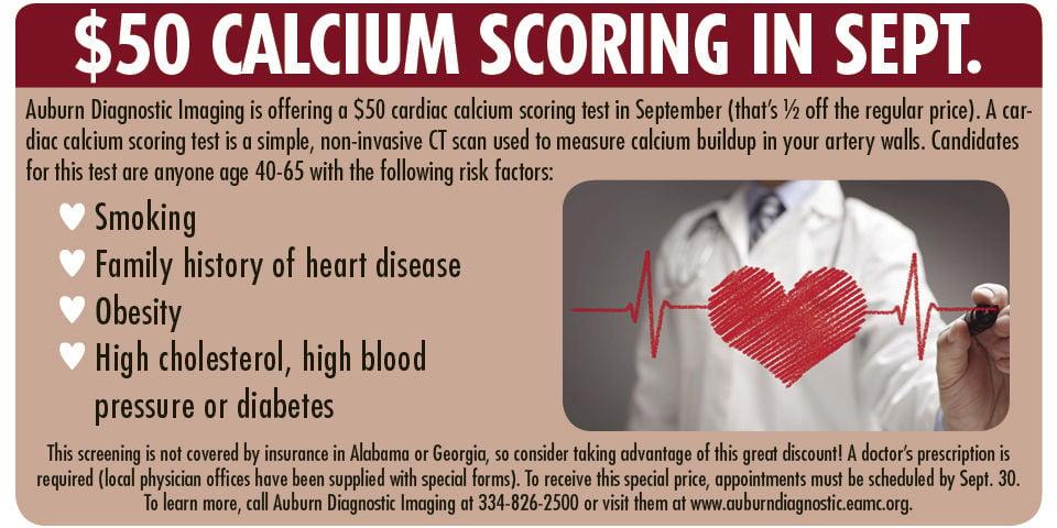 Calcium scoring