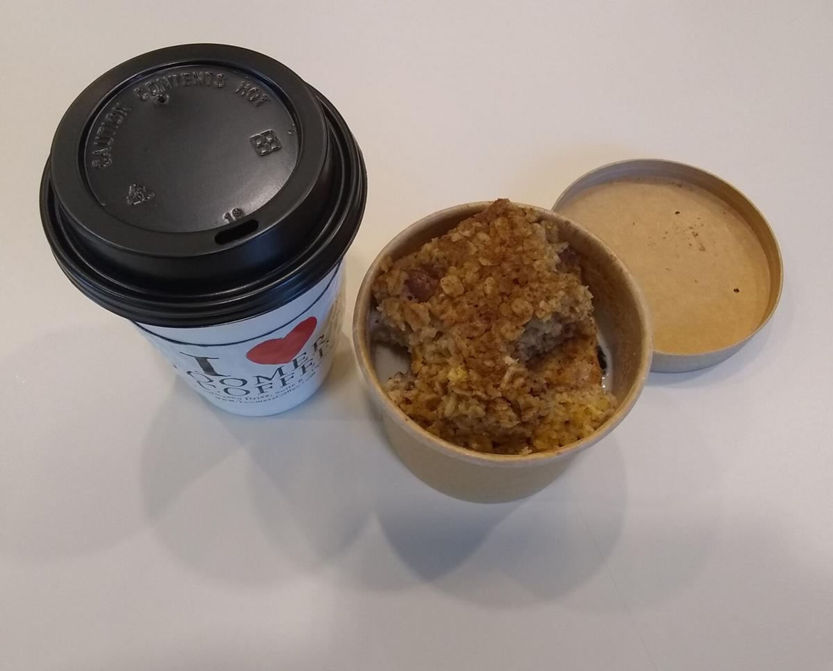 Toomer's Baked Oatmeal Steamer pushes away the cold