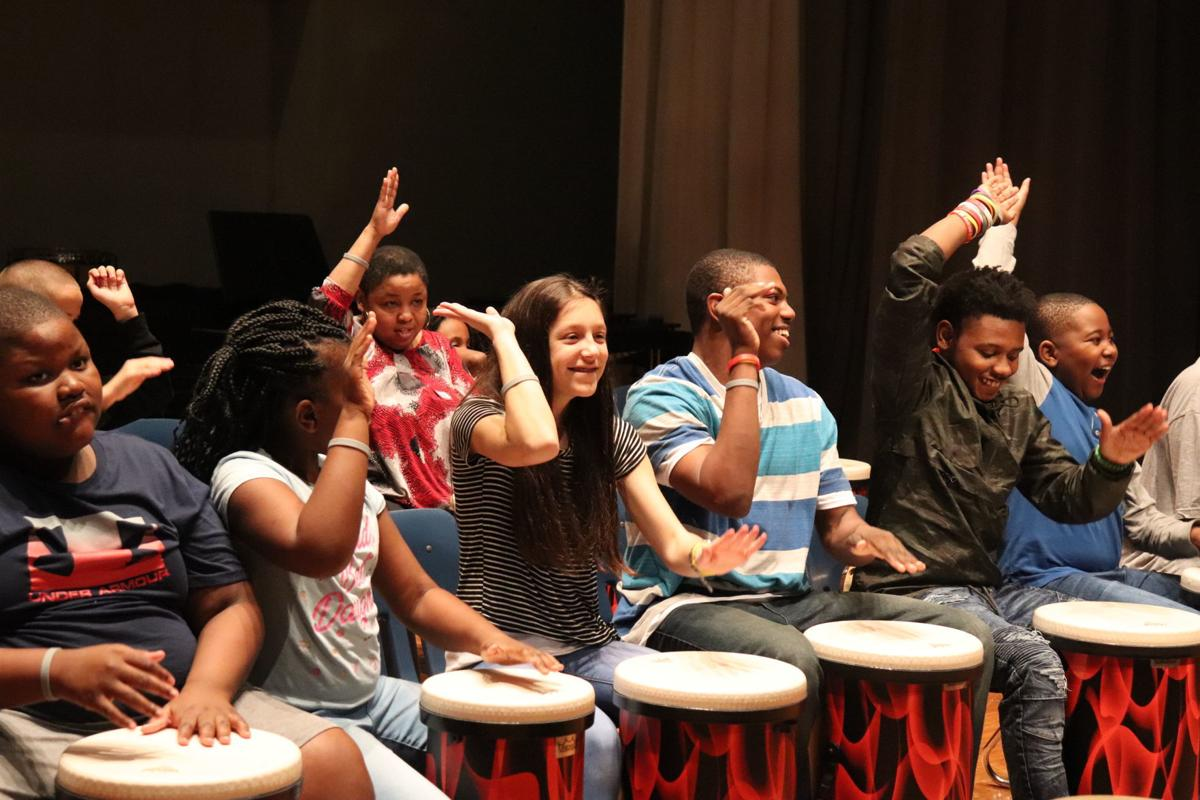 OMS students with special needs drum ensemble to perform at state music educator conference