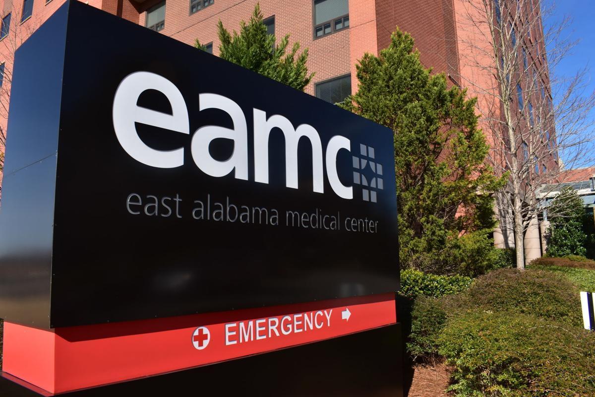 EAMC building mug