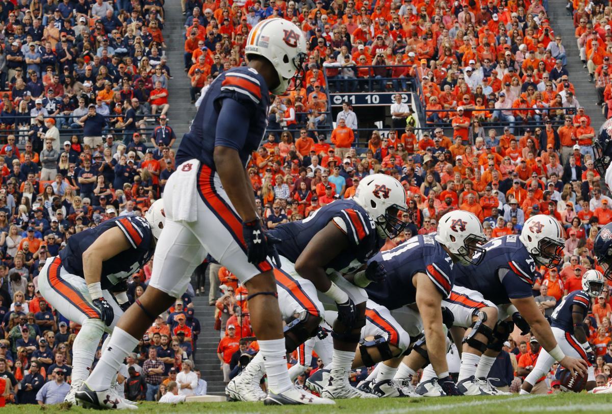 Rhett Lashlee unveils Auburn's top 5 O-linemen as spring winds down