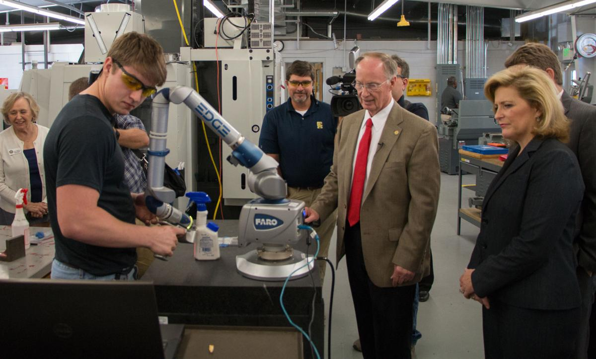 Bentley announces nearly 1 million in grants to central alabama community college