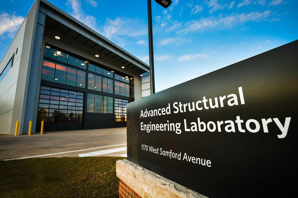 Auburn University's Samuel Ginn College of Engineering dedicates Advanced Structural Engineering Laboratory