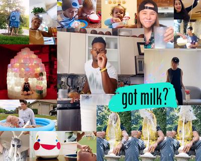 The 'Got Milk?' ads are back but they're not like the ones you remember