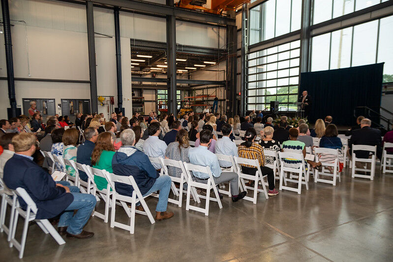 Advanced Structural Engineering Lab dedication and grand opening