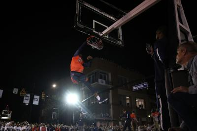 Downtown Auburn Shuts Down To Celebrate Basketball With
