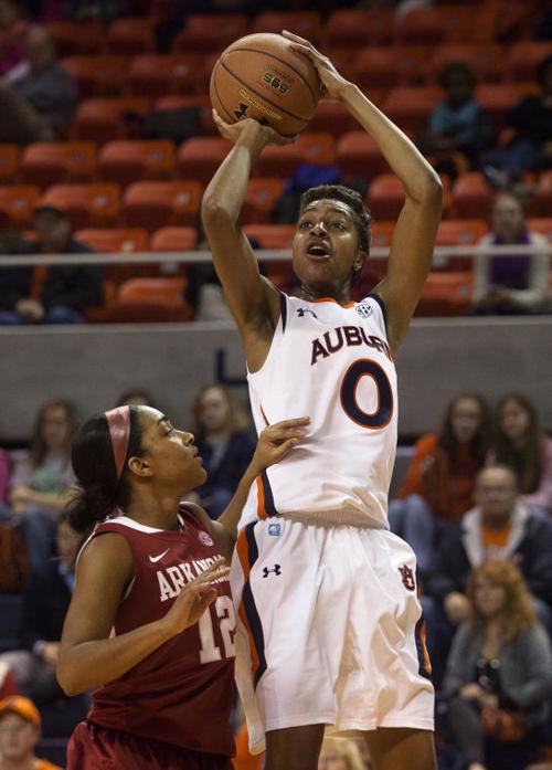 WOMENS BASKETBALL: Auburn vs. Arkansas