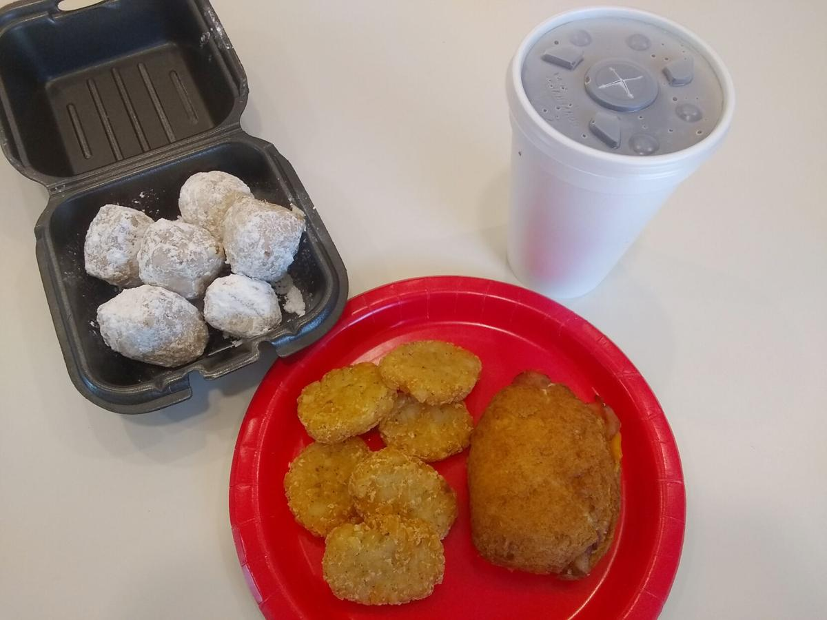Fried biscuit you say? Yes please.