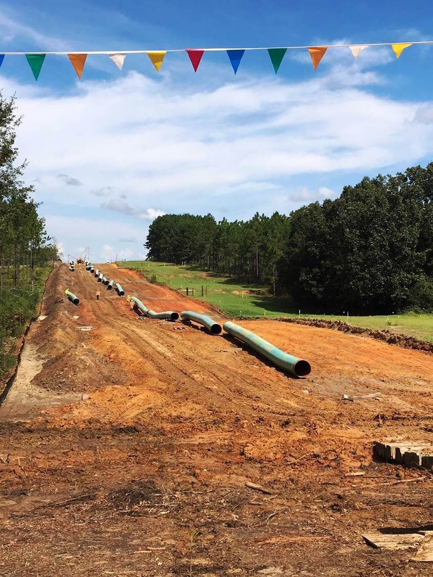 Alabama lee county salem - Sabal Trail Gas Pipeline To Start Construction In Lee County