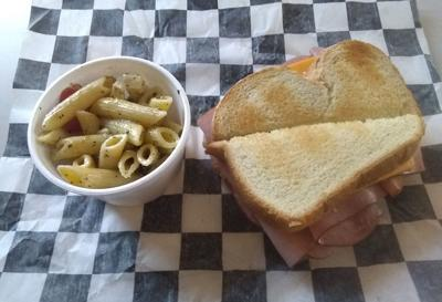 Hearty sandwiches at Gourmet Tiger