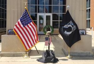 'You are not forgotten': POW/MIA display honors heroes