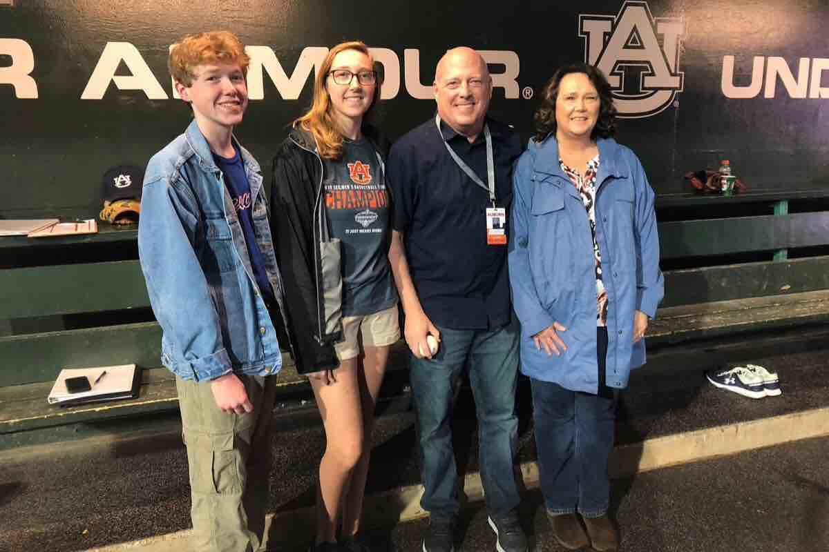Rod Bramblett family